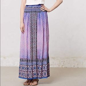 Anthropologie maxi skirt in great condition!!